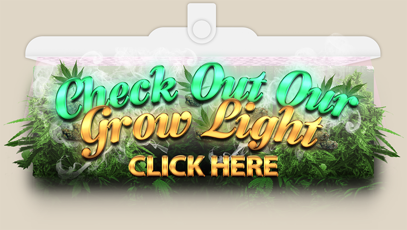 LED row Lights and tutorials for growing your own weed at home.