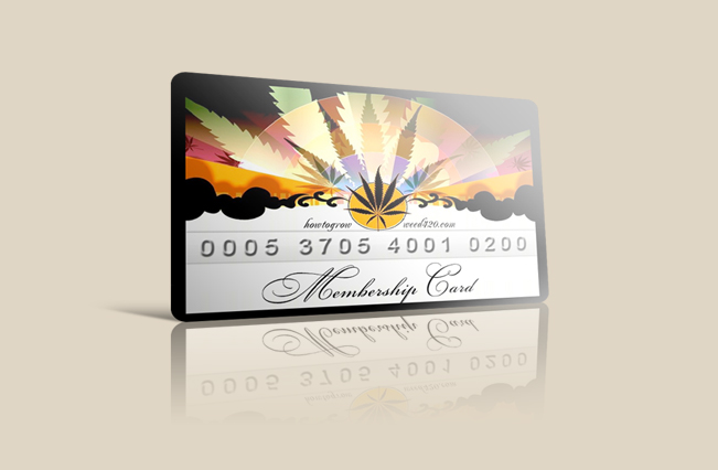 marijuana club card